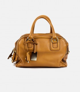 Women cowhide casual outdoor tote