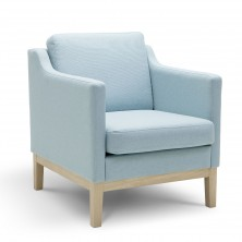 Fashion Arm club chair(Skyblue)