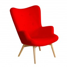 Mid-century style chair(Yellow)