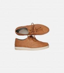Men's comfort PU casual flat heel