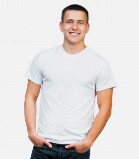 Classic simple crew neck short sleeve shirts
