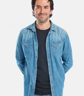 Denim shirt western jackets