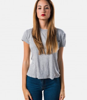 Gray casual short sleeve shirts